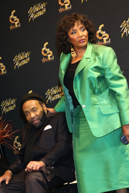 Andrae Crouch and Sondra Crouch