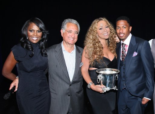 Catherine Brewton, BMI Vice President, Del Bryant, BMI President & CEO, Mariah Carey and Nick Cannon