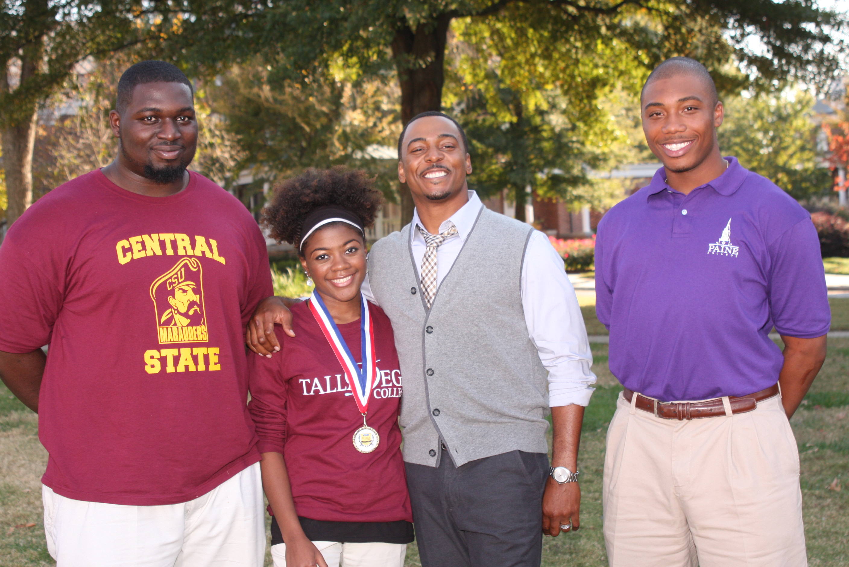 Karon Jones,Alexis Tardy, Ron Reaco, Artis Collins/Photo Credit John