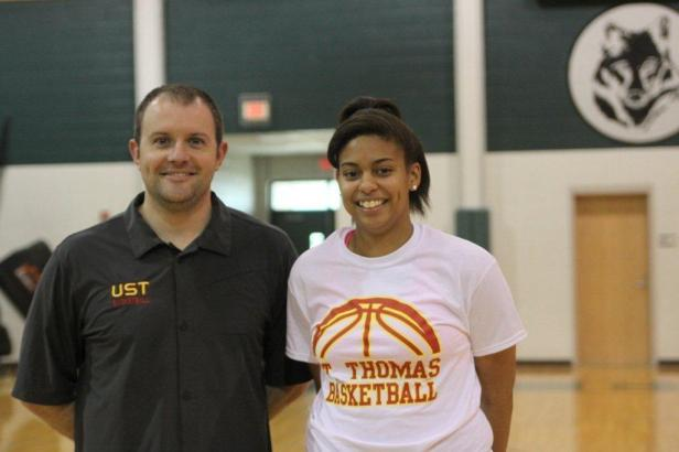 Chante Jefferson Signing Day- (UST)