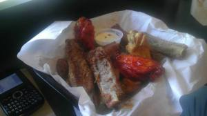 Texas Steak Out; Ribs and Chicken