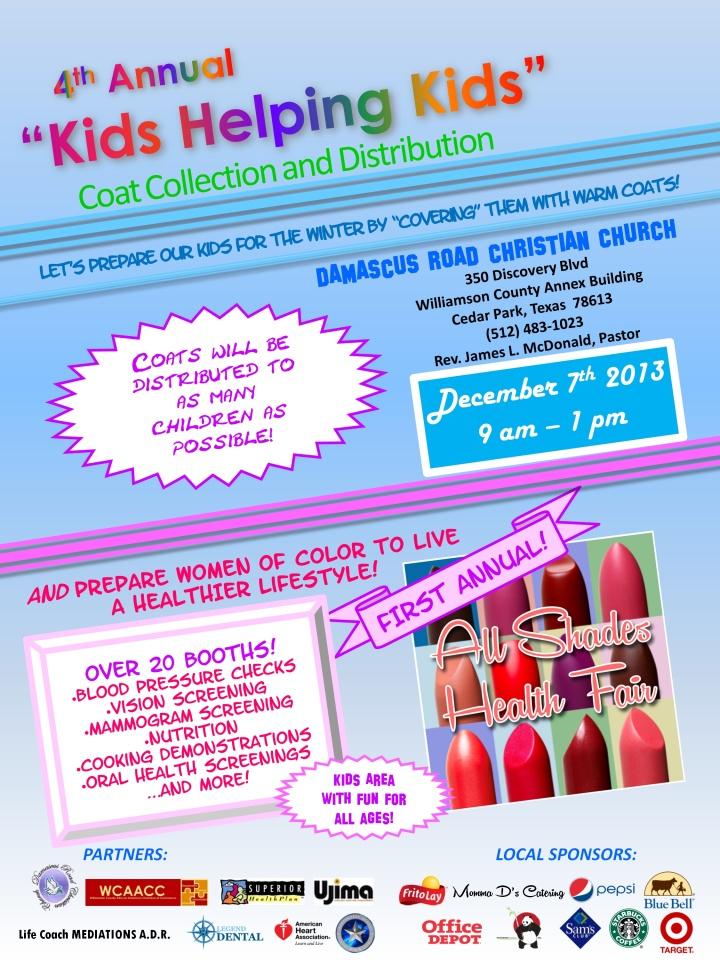 Kids Helping Kids - 2013 Final Combo Flyer-1