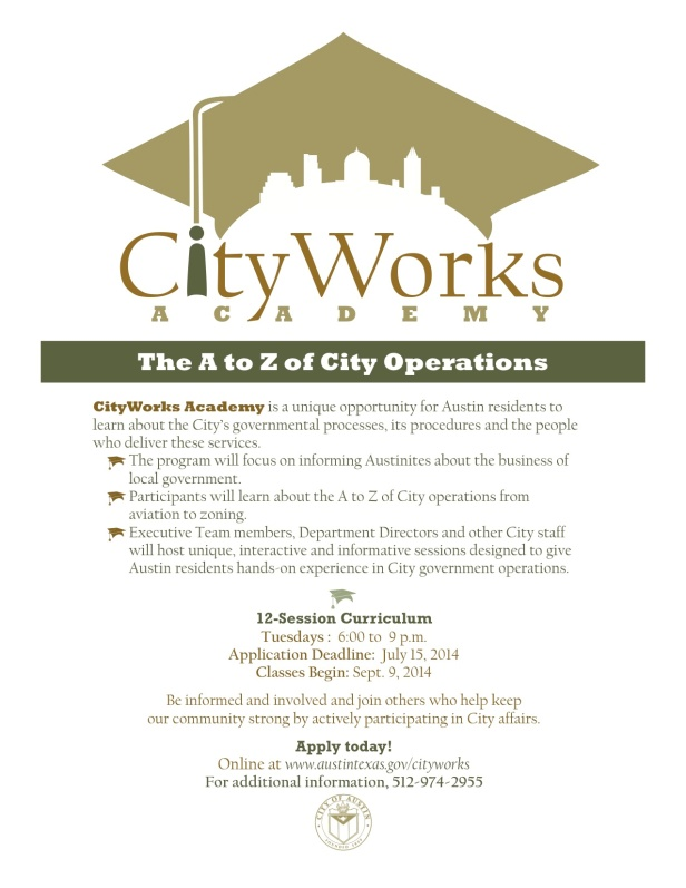 CityWorks Application