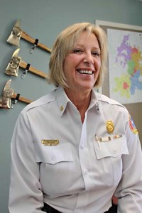 Fire Chief Rhoda Mae Kerr Photo Credit: austinchronicle.com