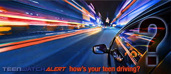 Teen watch moving cars