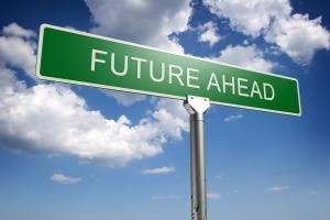 future ahead concept