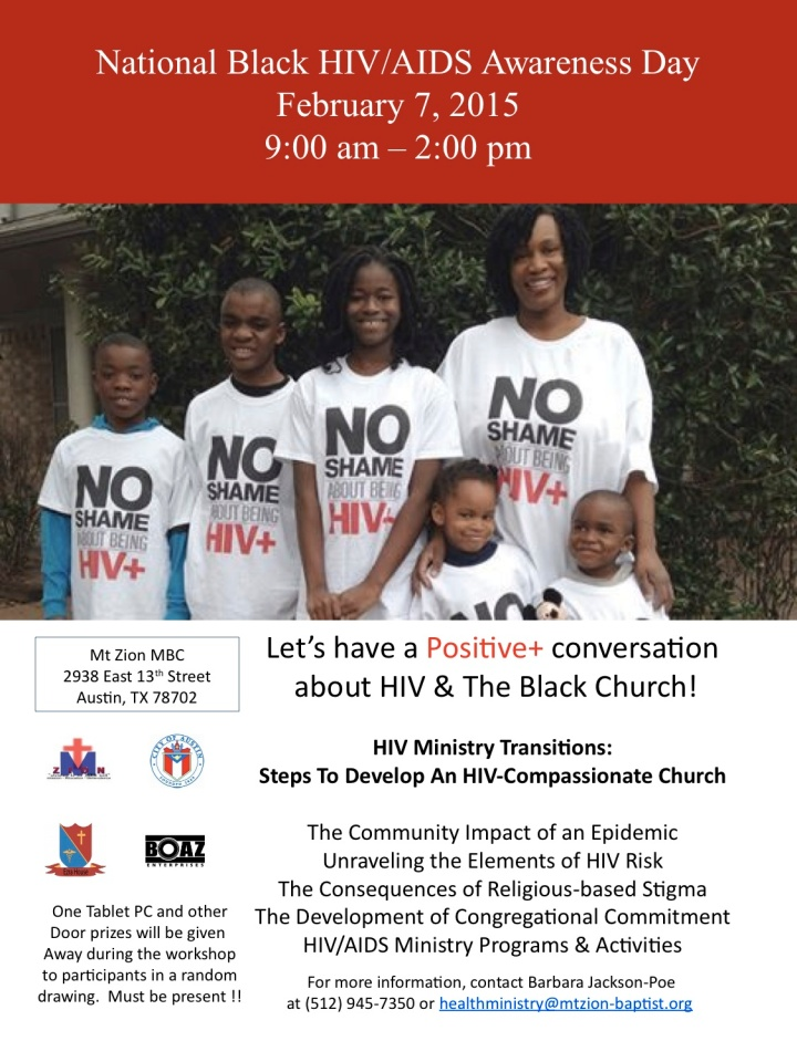 National Black HIV AIDS Awareness Day Flyer