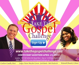 TAKE-THE-GOSPEL-CHALLENGE-POSTCARD-SIGN UP 4X6 Carlton-Keturah -FB