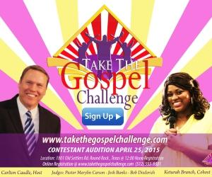 TAKE-THE-GOSPEL-CHALLENGE-POSTCARD-SIGN UP 4X6 Carlton-Keturah -FB