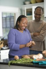 Black Couple 16284-an-african-american-couple-preparing-a-healthy-meal-pv