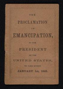 Emancipation Proclamation d267e649531354ce6556a970b1f667ea