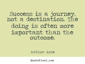 Ashe quote success