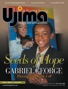 Gabriel George Cover, Ujima Magazine