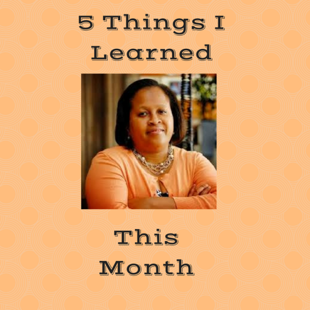Five Things I Learned-1
