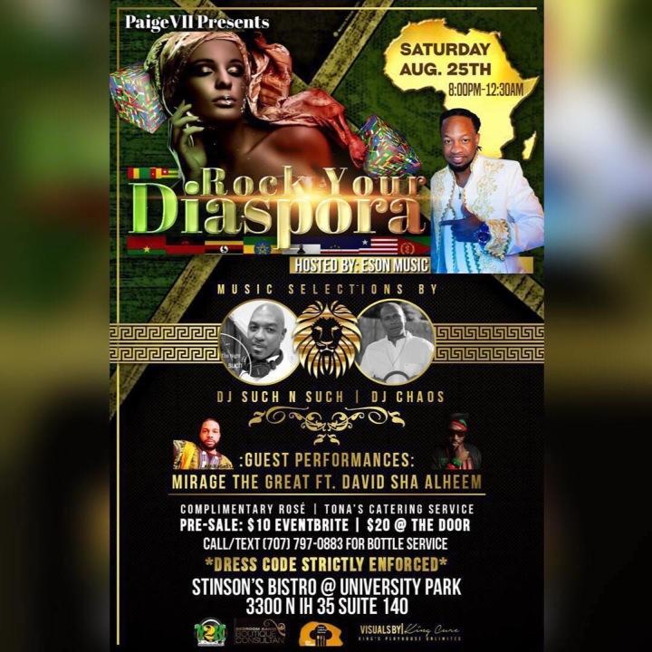 Rock Your Diaspora-Shametra